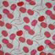 Cherries on White Flannel