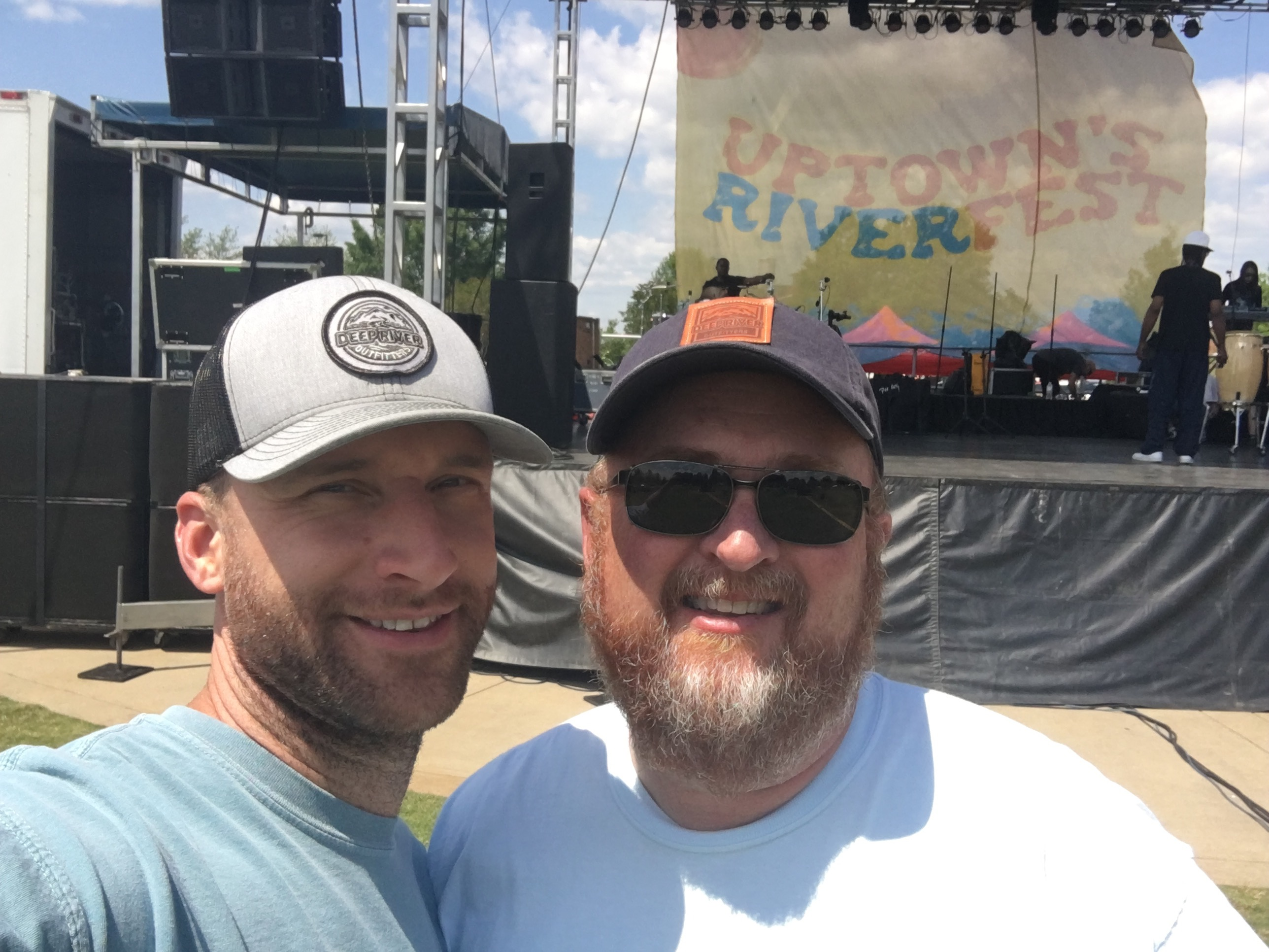 Matt & Keith at Uptown RiverFest