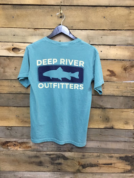 Deep River Trout in Comfort Colors Seafoam.