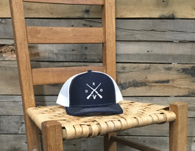 X Logo Deer Navy White