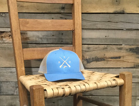 X Logo Duck Columbia Blue Khaki