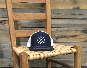 DRO X Logo Duck Navy White Hat