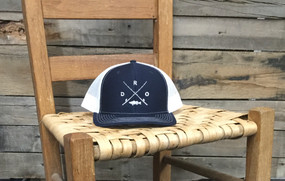 DRO X Logo Bass Navy White