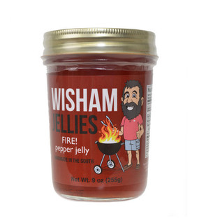 Wisham Fire! Pepper Jelly