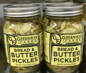 Greenway Farms Bread and Butter Pickle Chips