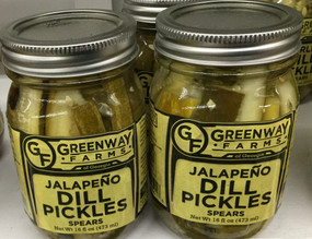 Greenway Farms Jalapeño Dill Pickle Spears