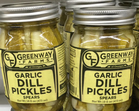Greenway Farms Garlic Dill Pickle Spears