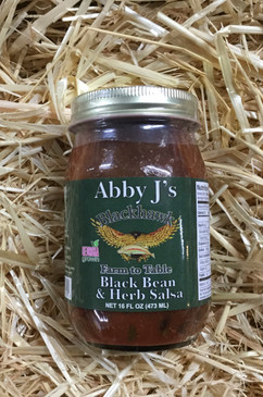 Abby J's Blackhawk Black Bean and Herb Salsa