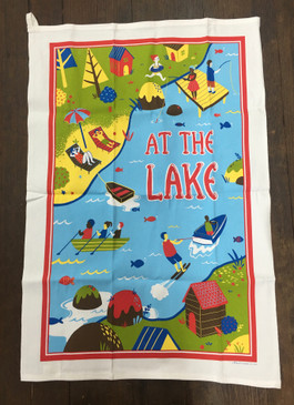 At the Lake Dish Towel