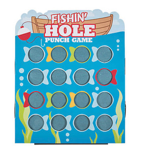 Fishin' Hole Punch Game