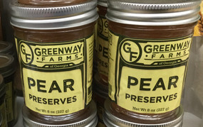 Greenway Farms Pear Preserves
