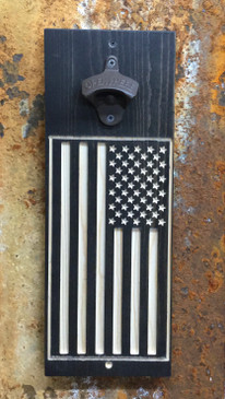 Man Cave Bottle Opener - USA