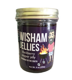 Wisham Blackberry Pepper Jelly