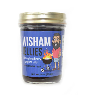 Blazing Blueberry Pepper Jelly