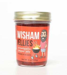 Wisham Strawlapeño Pepper Jelly