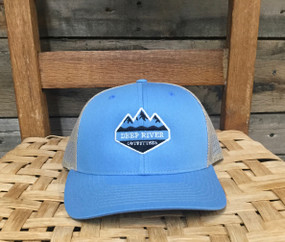 DRO Diamond Logo  Columbia Blue and Khaki Hat