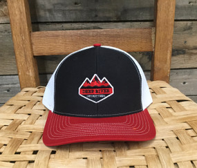DRO Diamond Logo  Black, White, Red  Hat