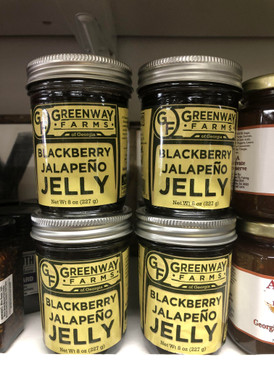 Greenway Farms Blackberry Jalapeño Jelly