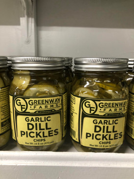 Greenway Farms Garlic Dill Pickle Chips