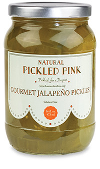 Pickled Pink Gourmet Jalapeño Pickles
