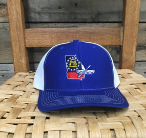 DRO Georgia Kayak Royal White Hat
