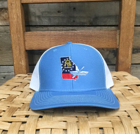 DRO Georgia Kayak Columbia Blue White Hat