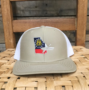 DRO Georgia Kayak Khaki White Hat