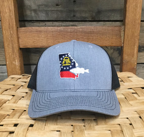 DRO Georgia Bass Heather Grey Black Hat