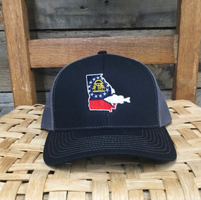DRO Georgia Bass Black Grey Hat