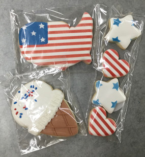 Cookies on Occasion July 4th Cookies