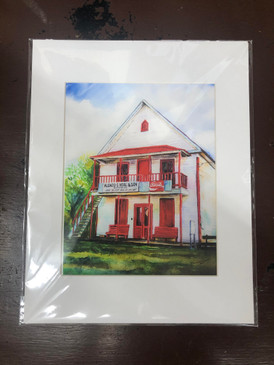 Dana Wiggins Thompson Veal & Son Store Print