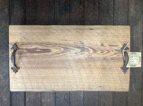 Owl's Nest at 116 Antique Heart Pine Tray