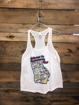 Georgia Hi-Lo Trail Tank Top