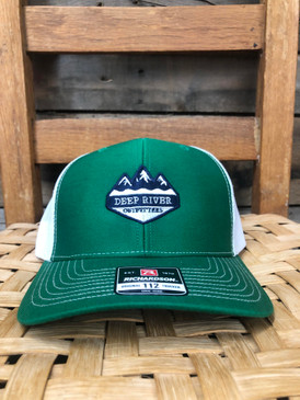 DRO Mountains Logo Emerald Hat