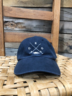 DRO X Logo Bass Navy Hat