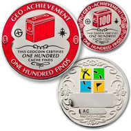 100 Finds Geo-Achievement set