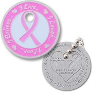 Breast Cancer Awareness Tag