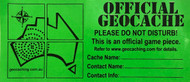 Geocache Stickers / Labels