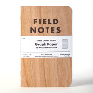 Field Notes Cherry Graph Rules 3-Pack