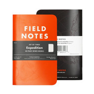 Field Notes Expedition Dot-Grid Graph Paper, 3-Pack