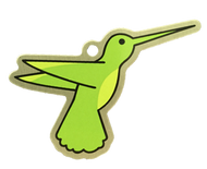 Hover the Hummingbird Travel Tag