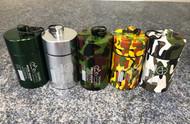In Order: Green, Silver, Camo 1, Camo 2, Camo 3