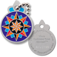 Compass Rose Tag - 16 Point