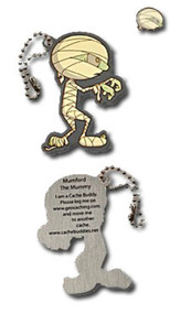 Mumford the Mummy Travel Tag