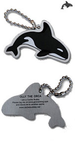 Olly the Orca Travel Tag