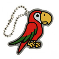 Polly the Parrot Travel Tag