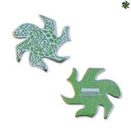 Tessellation Turtle - Green