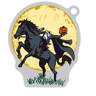 The Headless Horseman Travel Tag