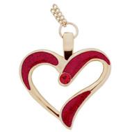 Eternal Love Geocoin Necklace