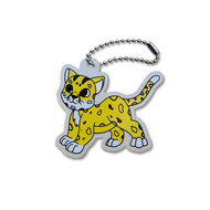 Casey the Cheetah Travel Tag
